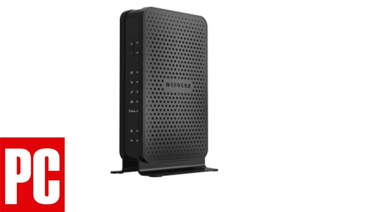 Netgear C3000 WiFi Cable Modem Router Review - YouTube