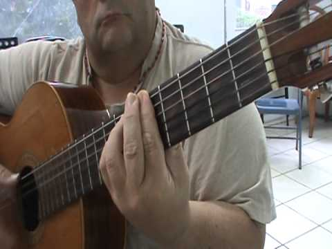 PETENERAS FLAMENCO GUITAR TABS AND LYRICS IN ANNOTATION FORM