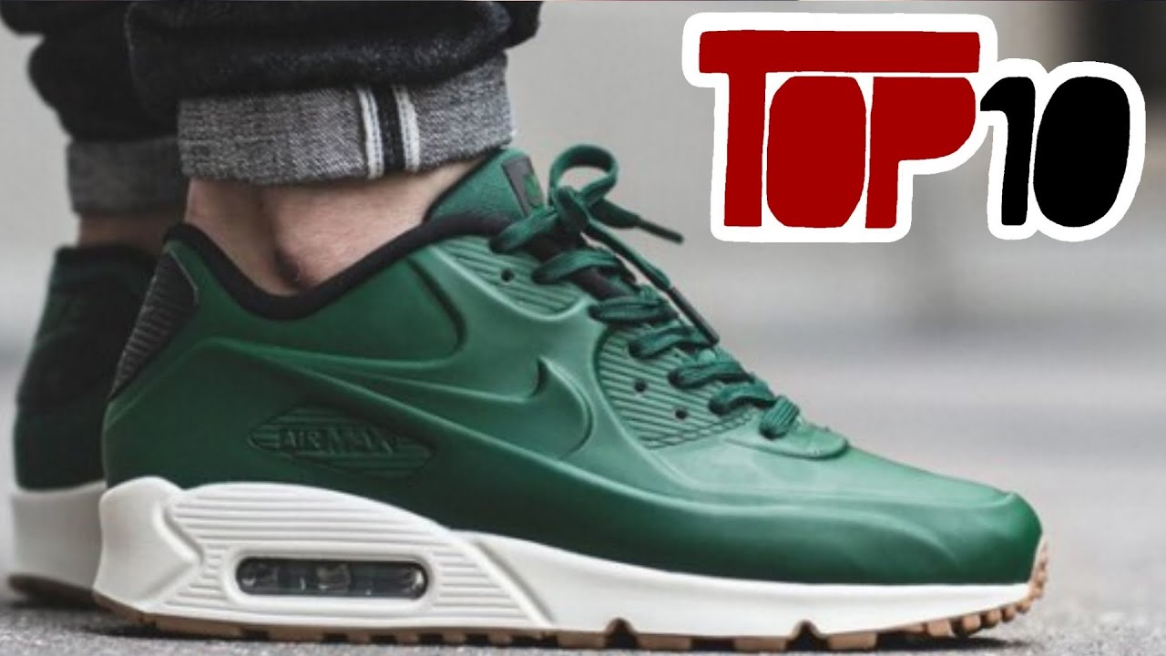 top ten nike air max 90