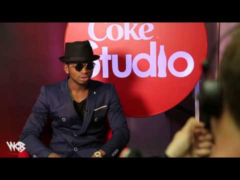 Diamond Platnumz - Coke Studio interview ( south africa )