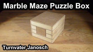 Marble Maze Puzzle Box