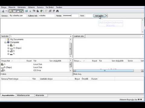 Filezilla ile FTP bağlantısı - IHS TELEKOM