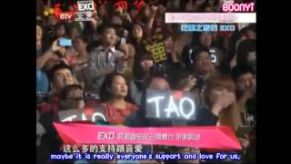 EXO - 130425 13th Music Awards - Backstage (eng subbed)