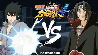 Naruto Shippuden Ultimate Ninja Storm 4   Sasuke VS Itachi