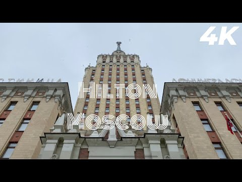 Hilton Moscow | Staying on the TOP FLOOR of this STALIN SKYSCRAPER | Soviet Building