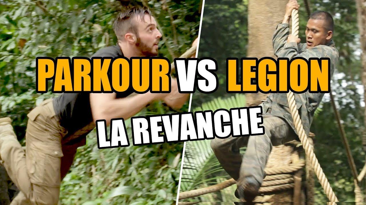 Parcours du combattant en forêt amazonienne : LEGION vs PARKOUR !