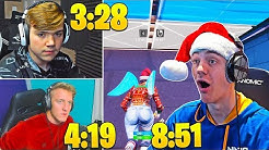 MONGRAAL vs TFUE vs NINJA! *MAX* BUILDING and EDITING Speed (HARDEST Course)