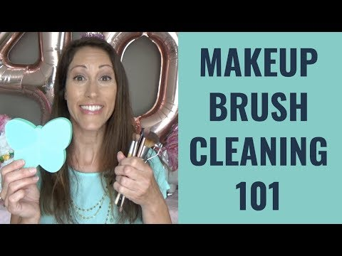 How Often Do you Clean Your Makeup Brushes? | Makeup Brush Cleaning Tutorial | Beauty Health Tip