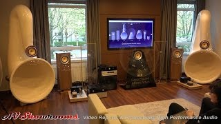 AER loudspeakers and drivers, beautiful looking and sounding, hifideluxe Munich