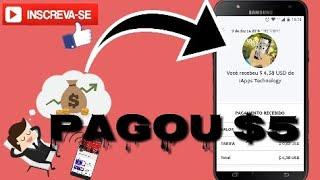 PAGOU!! $5 Funny Cat Mais Pagamento
