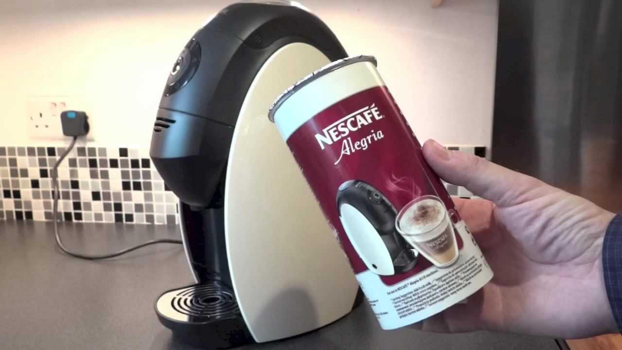 A Review of the Nescafé Alegria Coffee Machine - A review of the Nescafé Alegria A510 'Office Barista' Coffee Machine.