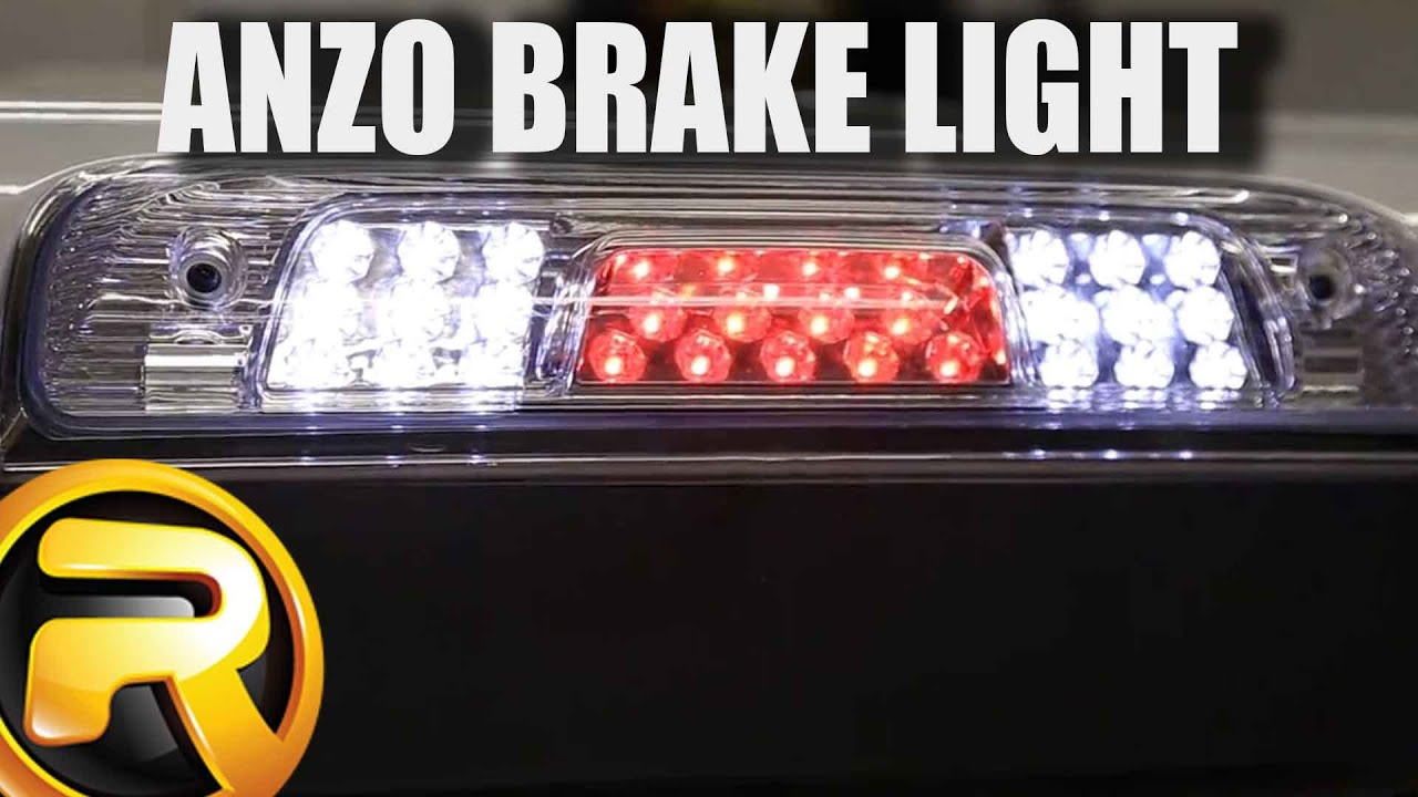 How To Install Anzo Led Third Brake Light On A 2015 Gmc