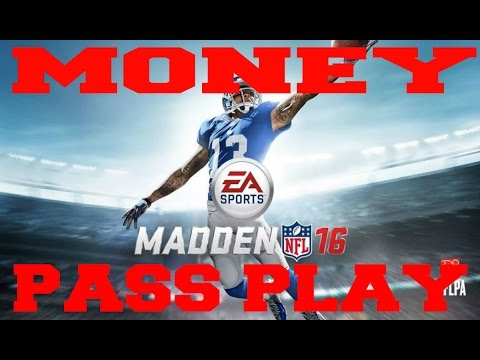 Best Madden 16 Greatest Unstoppable Pass Play Money Play How To : Bunch TE Cross Drag