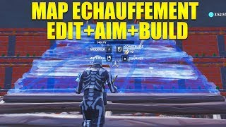 THE BEST MAP of AIM ECHAUFFEMENT, EDIT PARCOURS on FORTNITE!