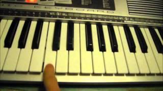 Tuto piano joyeux anniversaire (Mélodie)