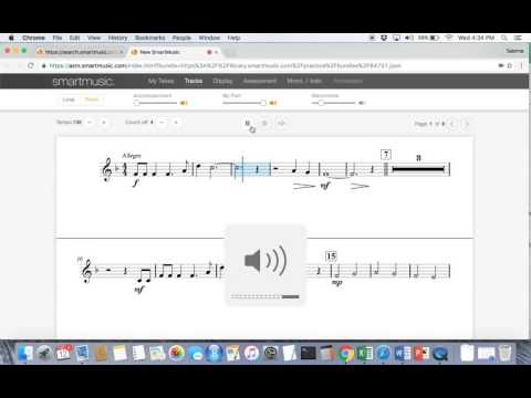 Smart Music tutorial