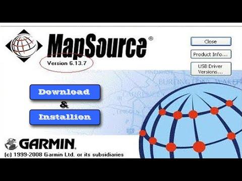 Download And Installation GARMIN GPS Software