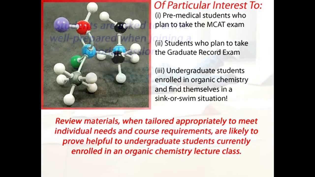 Experienced Organic Chemistry Tutor - Prepare for GRE/MCAT ...