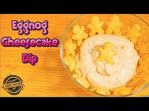 Easy Eggnog Cheesecake Dip - Recipe