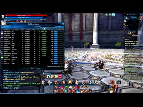Tera - Character And Guild Transfer