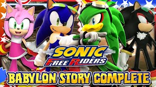 Sonic Free Riders - Babylon Story COMPLETE w/Bodycam