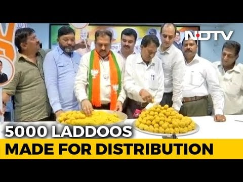 Confident Of Win, Maharashtra BJP Orders 5,000 'Laddoos' Ahead Of Counting