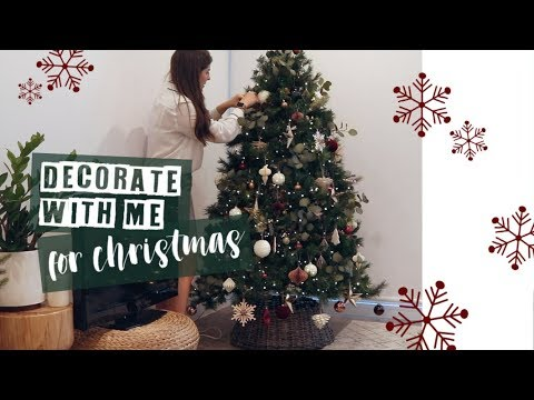 DECORATE WITH ME FOR CHRISTMAS 2018 // Vlog | Rachael Jade