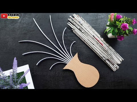 Paper Craft Wall Hanging | Diy Room Decor | Paper Flowers Wall Decor | Home Decor Ideas | Wall Mate