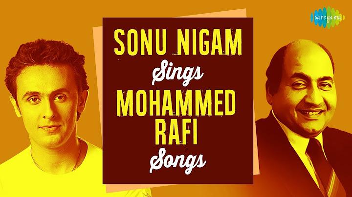 sonu nigam sings top 15 songs of mohammed rafi  hd songs  one stop jukebox