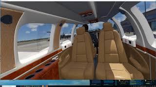 Oculus Rift - Aerofly fs2 VR - ORBX Monterey Regional Airport (1/5)