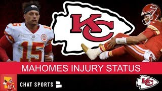 Patrick Mahomes Injury News: Will Mahomes Play For The Chiefs In Week 10 vs. The Titans?