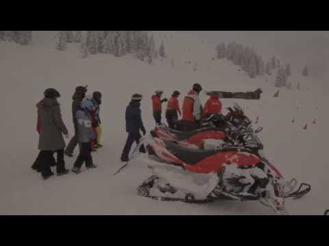 snowmobile fahrtraining montee  skidoo snowmobile com snowmobile fahren als firmenevent #5
