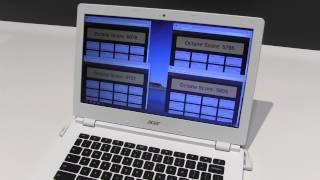Acer Chromebooky s Tegra K1 a Celeron Bay Trail [IFA 2014]