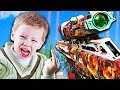 SALTY KID RAGE QUITS CRAZY 1V1 TROLL! (Call of Duty Trolling)