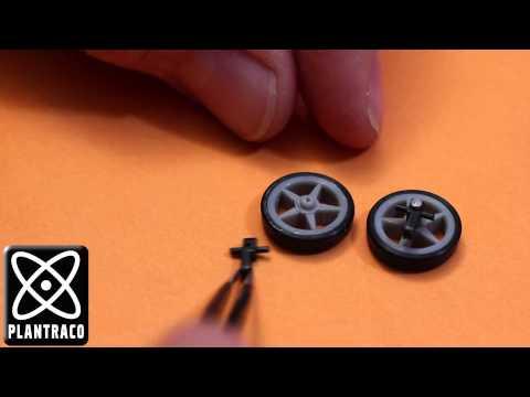 ZenWheels Micro Car Steering Knuckle Repair and Take Apart