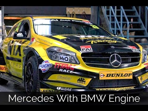 Mercedes With Bmw Engine Youtube