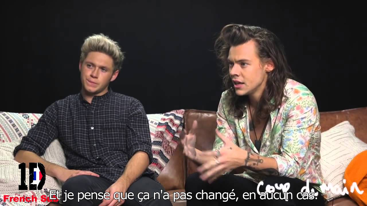 Interview  Harry Styles et Niall Horan 2015 (Promo Made in the AM) VOSTFR Traduction Française