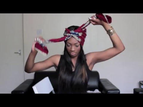How To Tie Head Wrap Turban Into Different Styles