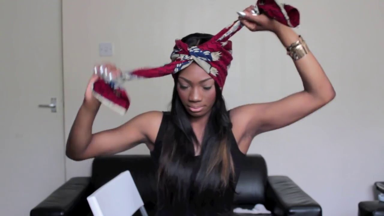 9542da98396 HOW TO  Tie A Head Wrap  Turban Into 3 Different Styles - YouTube