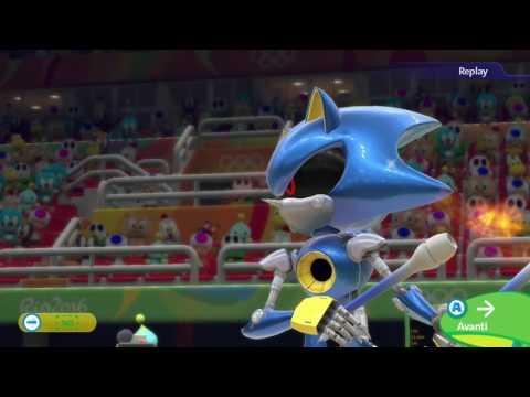 Mario & Sonic at the Rio 2016 Olympic Games (Wii U) - Rhythmic Gymnastics - all Metal Sonic routines
