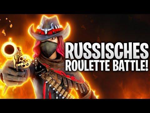 DAS RUSSISCHE ROULETTE BATTLE! 🔫 | Fortnite: Battle Royale