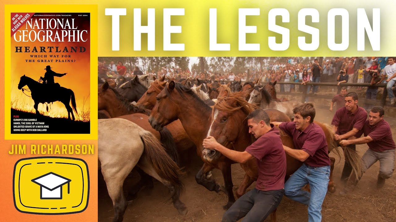 🎥  The BIG LESSON working for NATIONAL GEOGRAPHIC   PHOTOGRAPHY with JIM RICHARDSON 🎥