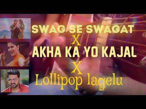 BollywoodX Haryanvi X Bhojpuri Guitar Instrumental Mashup|Salman Khan|Pawan Singh|Sapna Chaudhary