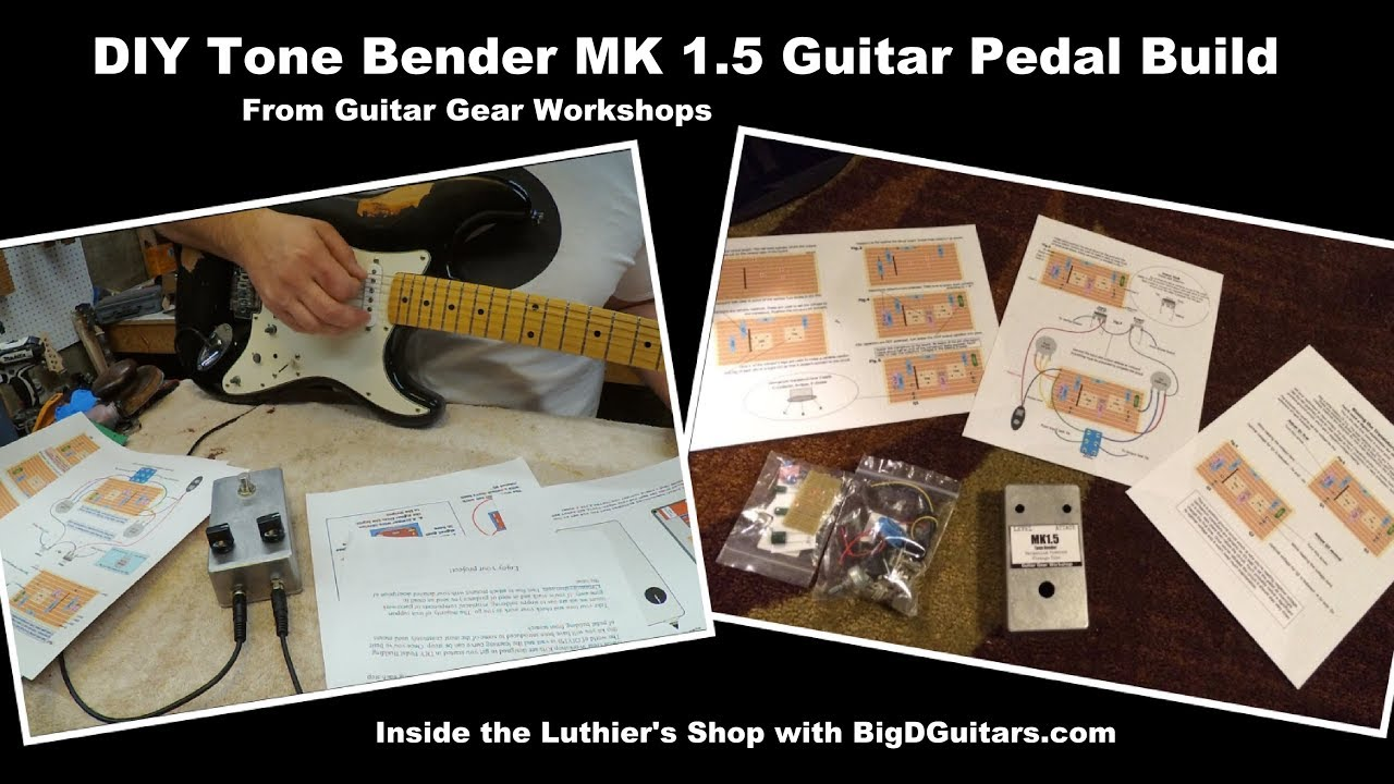 DIY Pedal Build - Tone Bender MK 1 5 - Fuzz Pedal Kit
