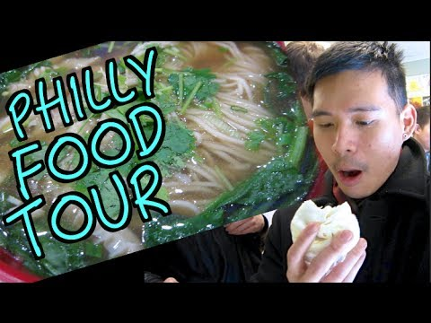 PHILLY FOOD TOUR!!