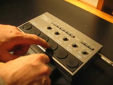yamaha mr 10 rare analogue vintage drum machine youtube. Black Bedroom Furniture Sets. Home Design Ideas
