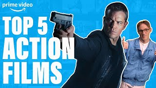 Top 5 Action Movies Ever | Prime Video