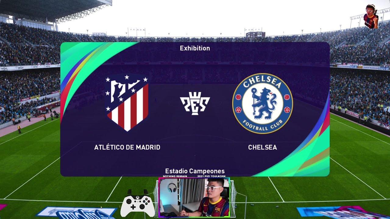PES 2021 | Atletico Madrid vs Chelsea | UEFA Champions League |  Prediction-Gameplay PC - YouTube