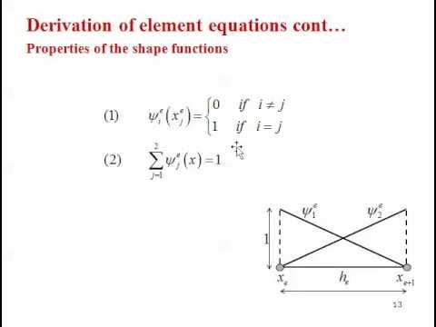 Implementation of Finite Element Method (FEM) to 1D Nonlinear BVP: Brief Detail