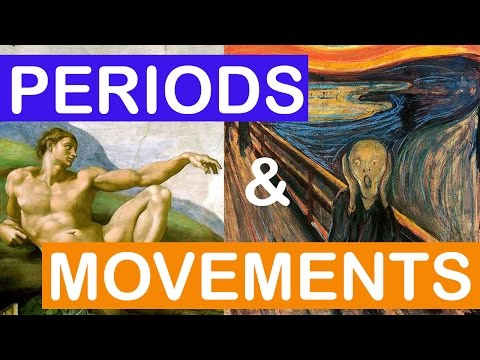 Art Periods and Art Movements   LittleArtTalks